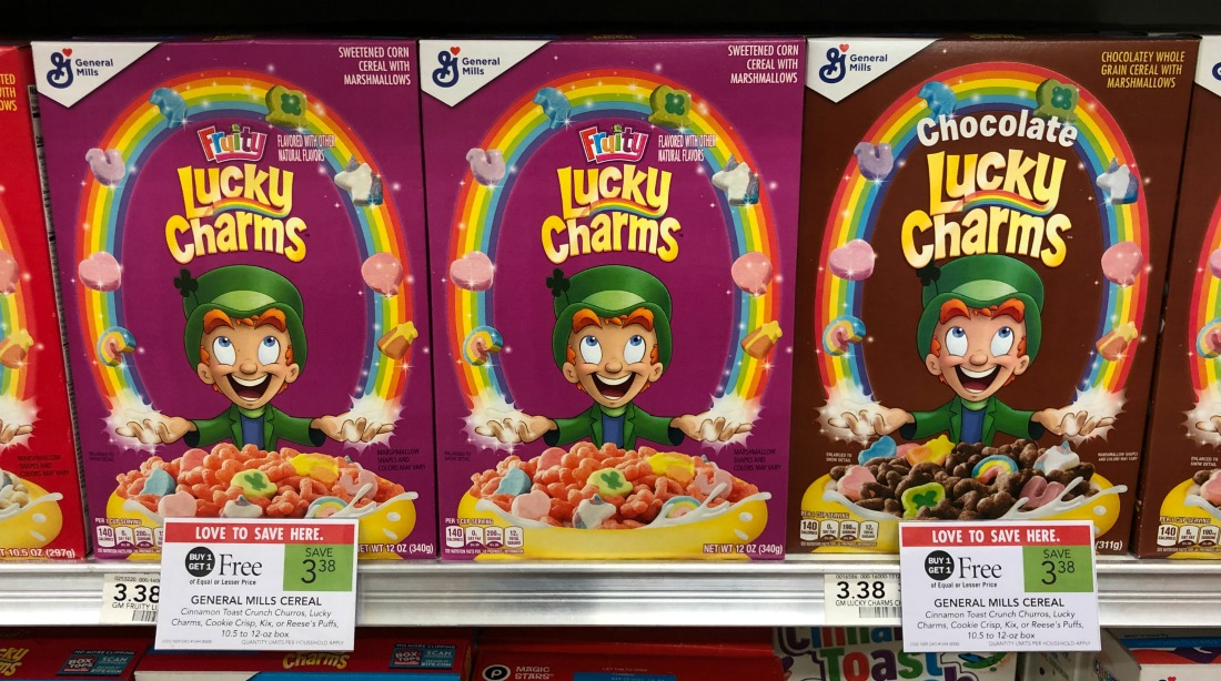 General Mills Cereal As Low As $1.19 Per Box on I Heart Publix