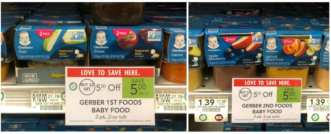 Gerber Baby Food As Low As 17¢ At Publix on I Heart Publix 2