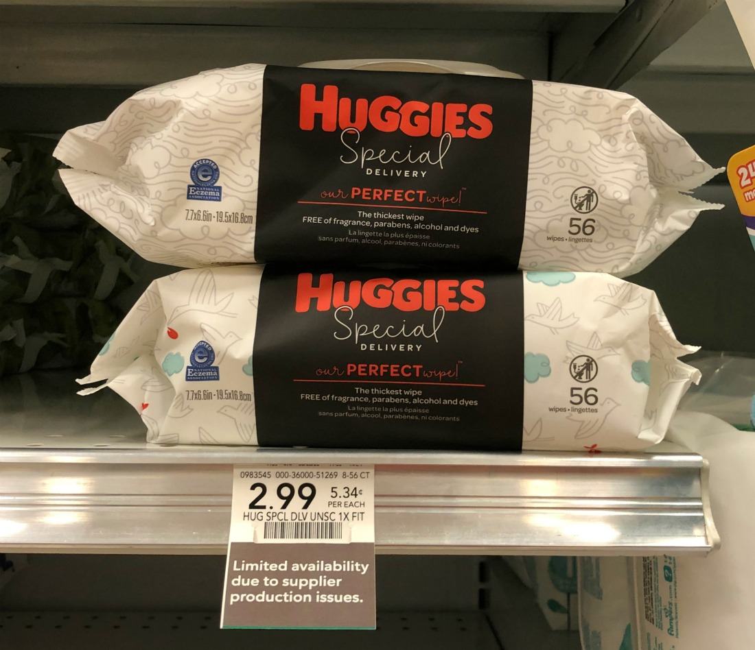 Huggies Special Delivery Wipes Just 99¢ At Publix on I Heart Publix