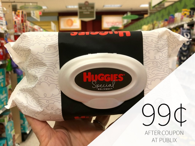 Huggies Special Delivery Wipes Just 99¢ At Publix on I Heart Publix 1