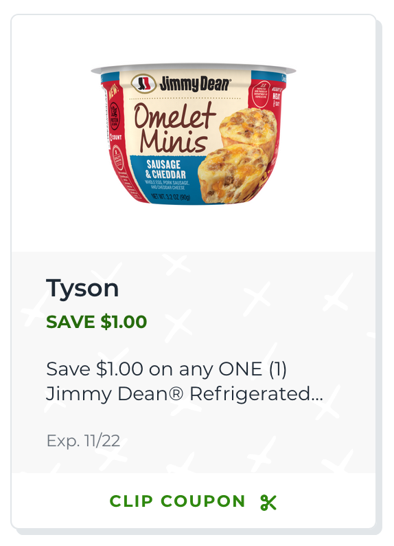 Clip Your Coupon And Save On Jimmy Dean® Omelet Minis - New At Publix on I Heart Publix
