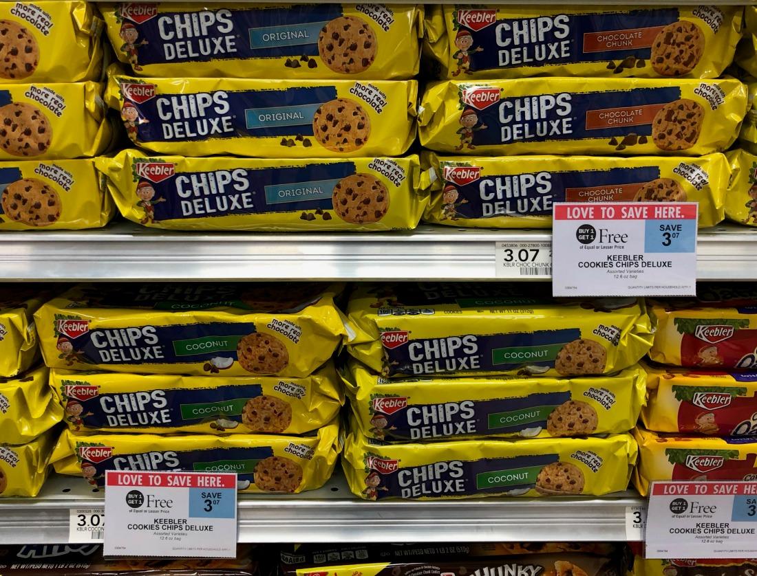 Keebler Cookies As Low As 79¢ After Sale & Cash Back At Publix on I Heart Publix