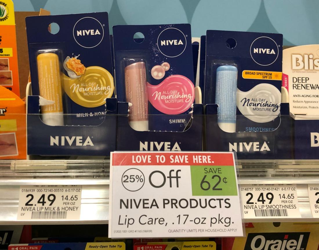 Nivea Lip Care Items Only 99¢ At Publix on I Heart Publix