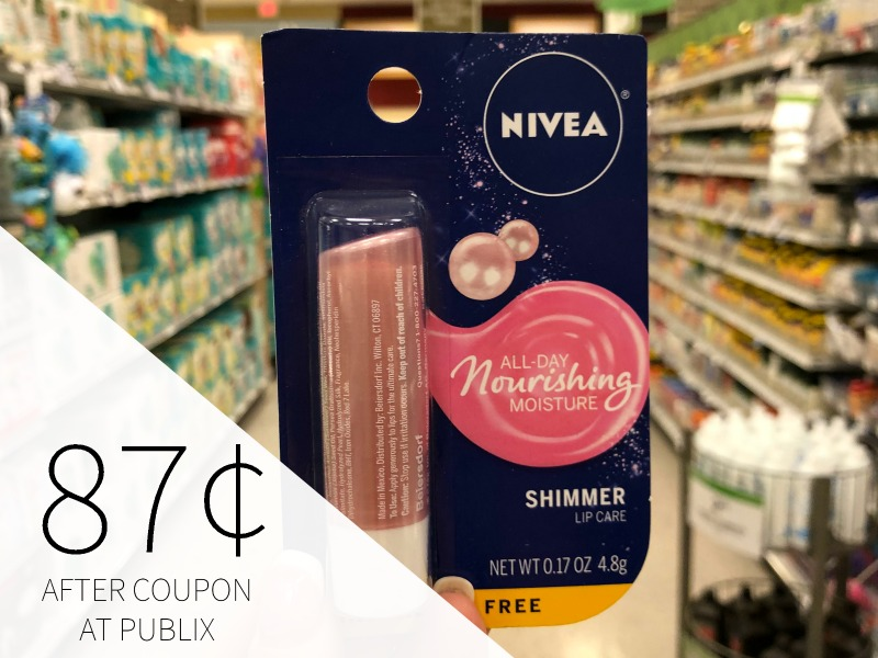 Nivea Lip Care Items Only 99¢ At Publix on I Heart Publix 1