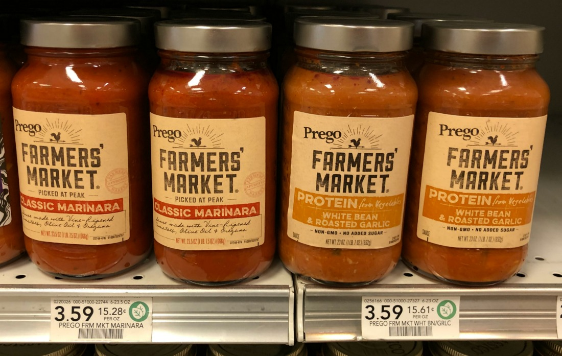 Prego Farmers' Market Sauce Only $1.80 At Publix on I Heart Publix 2