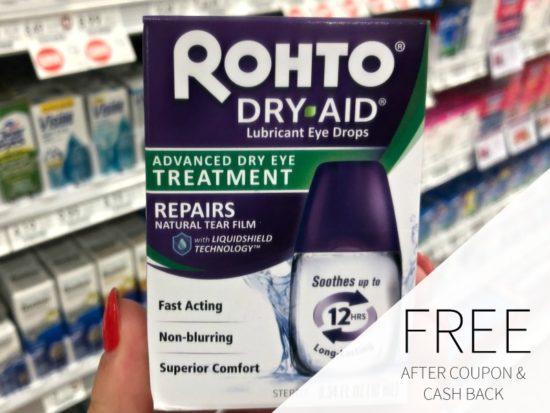 FREE Rohto Dry-Aid Eye Drops At Publix on I Heart Publix 1