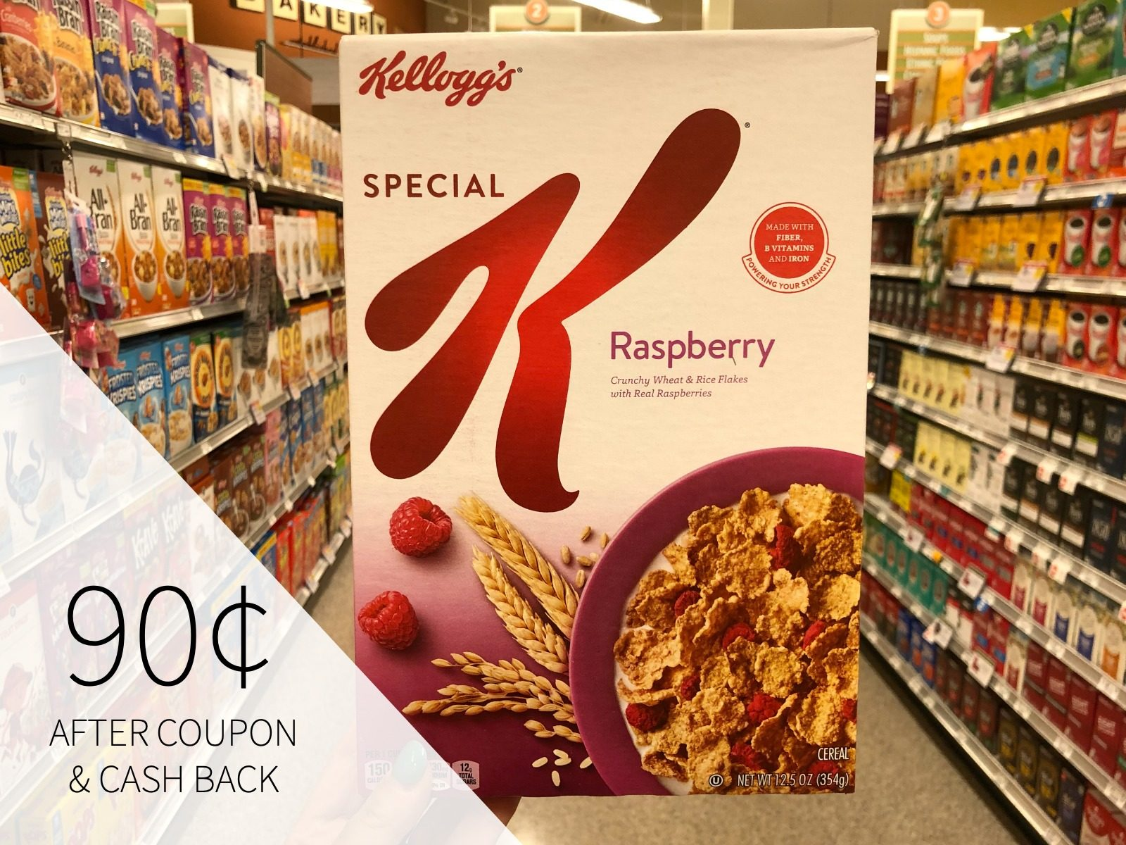 Get A Super Deal On Kellogg's® Special K® Cereal & Be Sure To Sign Up For The Virtual MORE THAN PINK Walk on I Heart Publix 1