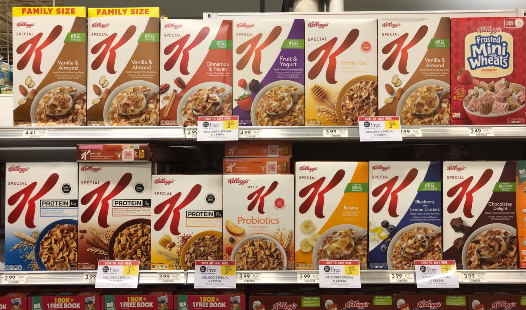 Pick Up Kellogg's® Special K® Cereals During The Publix BOGO Sale (As Low As 90¢) & Sign Up For The Susan G. Komen Miami/Fort Lauderdale Virtual More Thank Pink Walk on I Heart Publix 1