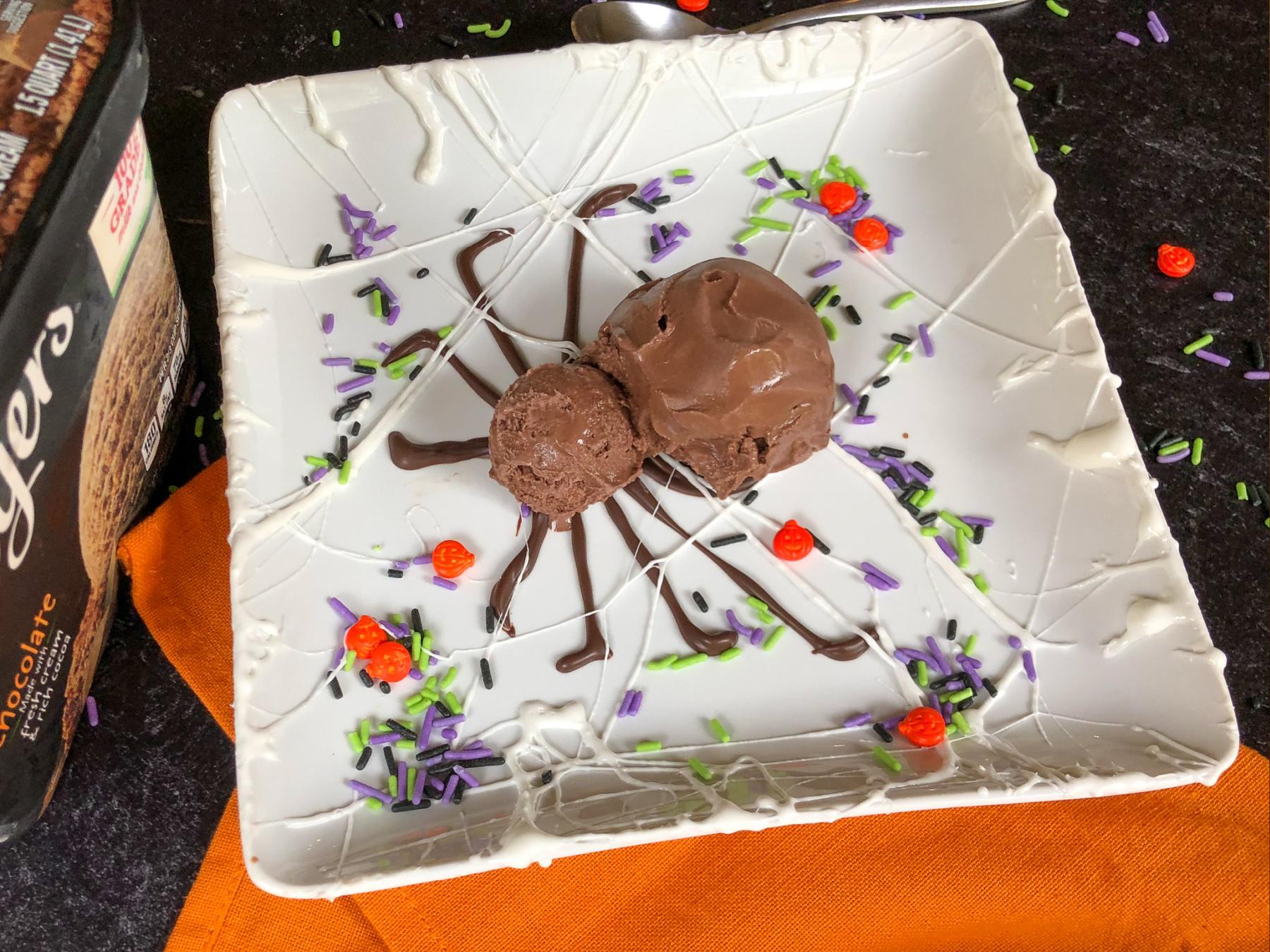 Serve Up A Fun Halloween Treat Using Breyers Ice Cream - On Sale BOGO At Publix! on I Heart Publix 3