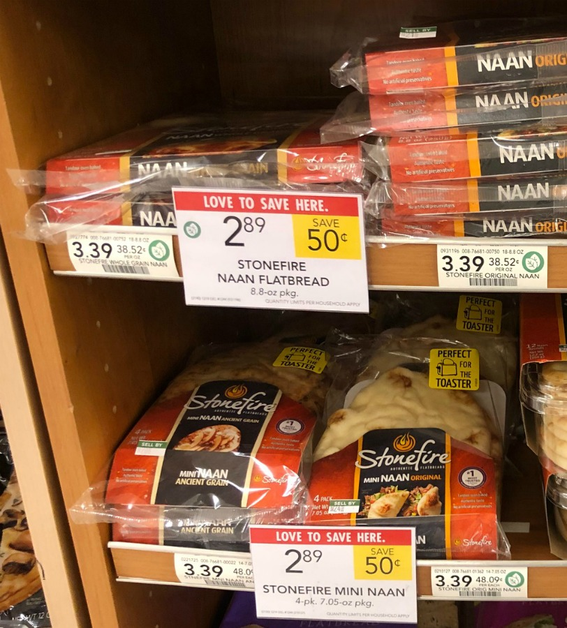 Stonefire Naan Deals At Publix - Flatbread As Low As $1.89 on I Heart Publix