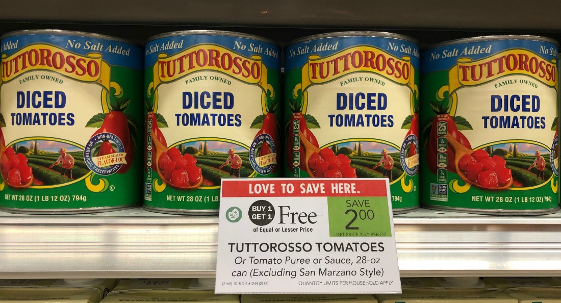 Tuttorosso Tomatoes on I Heart Publix