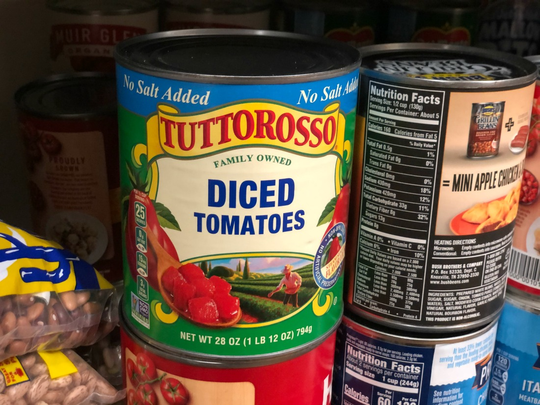 Tuttorosso Tomatoes Only 50¢ Per Can At Publix on I Heart Publix