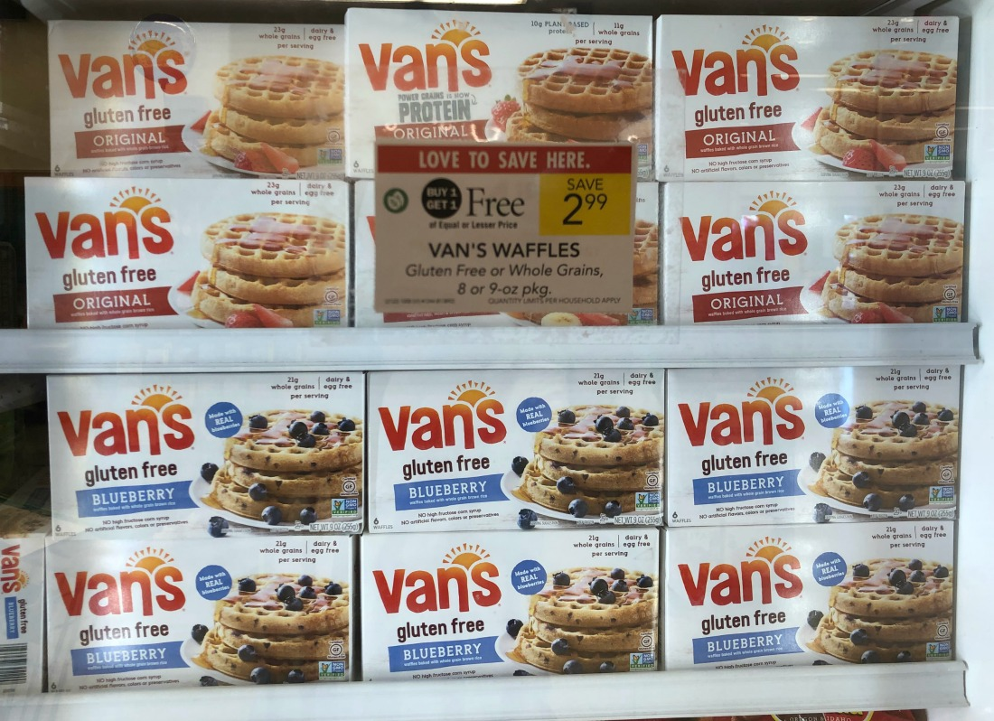 Van's Waffles Just 50¢ At Publix on I Heart Publix
