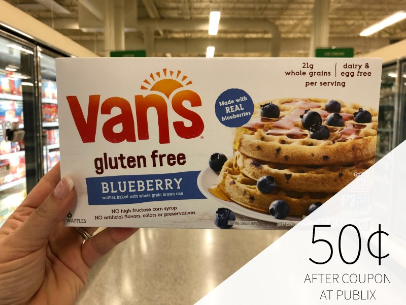 Van's Waffles Just on I Heart Publix