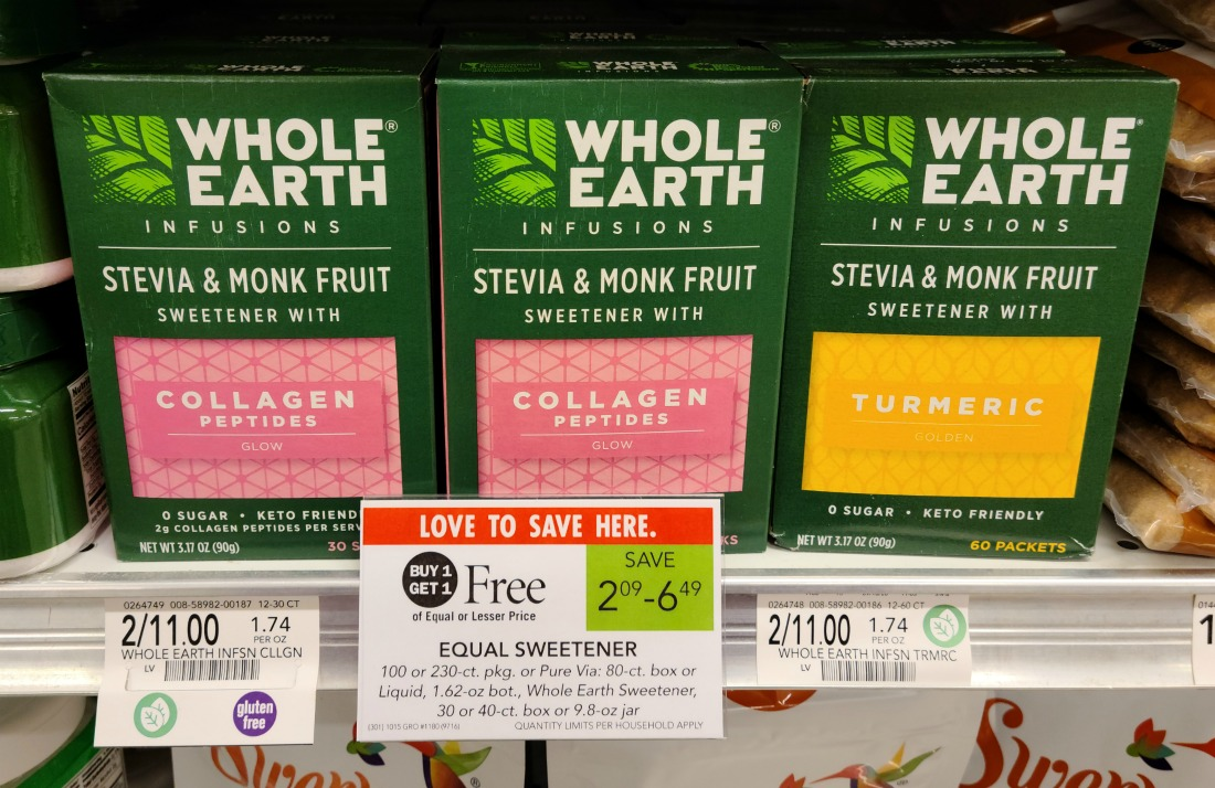 Whole Earth Infusions Sweetener Just 75¢ At Publix (reg $5.50) on I Heart Publix