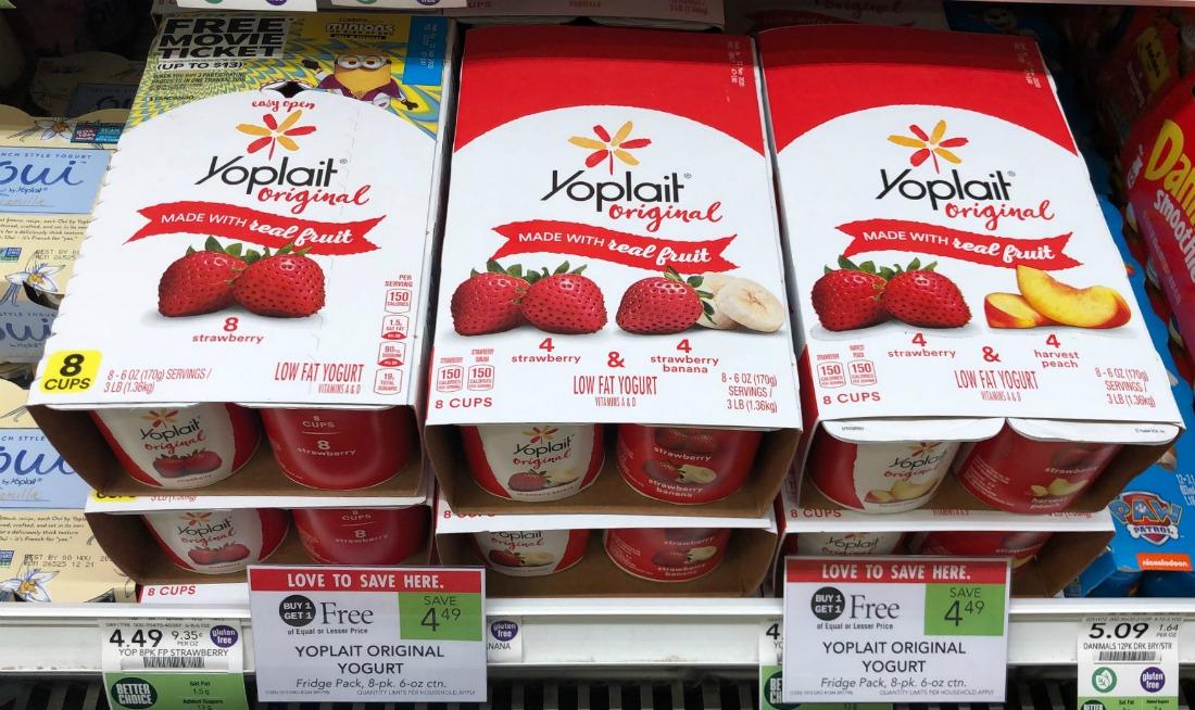 Fantastic Deal On Yoplait Yogurt - 19¢ Per Cup After Sale & Coupon At Publix on I Heart Publix