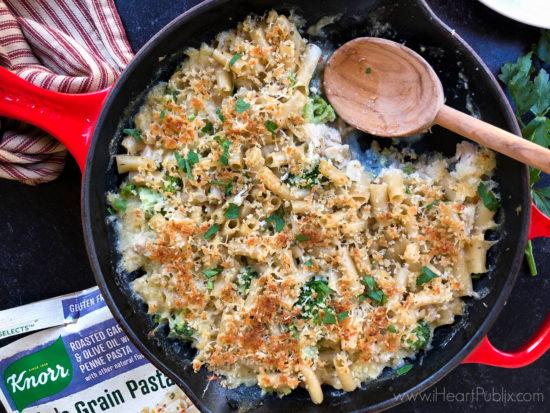 Cheesy Broccoli, Turkey & Pasta Bake on I Heart Publix