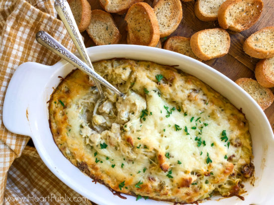 Baked Artichoke & Turkey Dip - Grab A Great Discount On Hellmann's Mayo To Have For All Your Favorite Meals on I Heart Publix