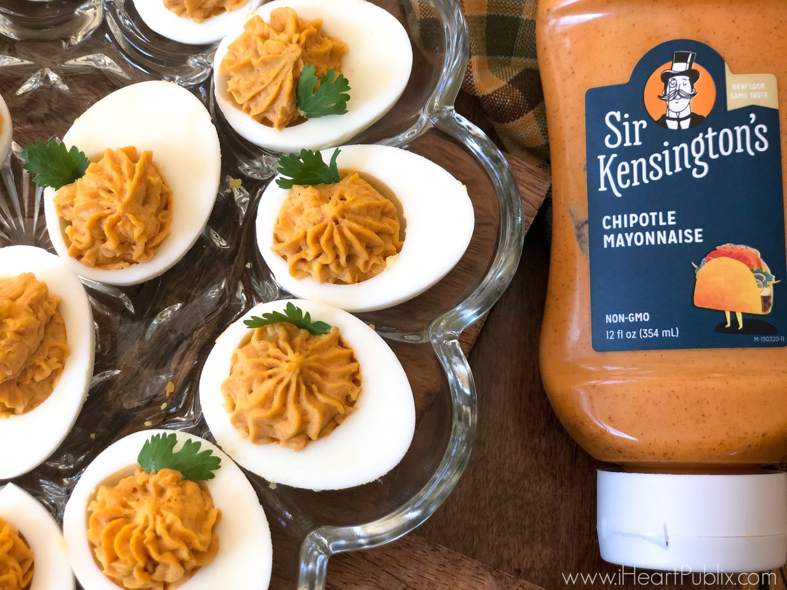 Add These Chipotle Deviled Eggs With Bacon To Your Holiday Menu - Save On Sir Kensington's At Publix on I Heart Publix 1