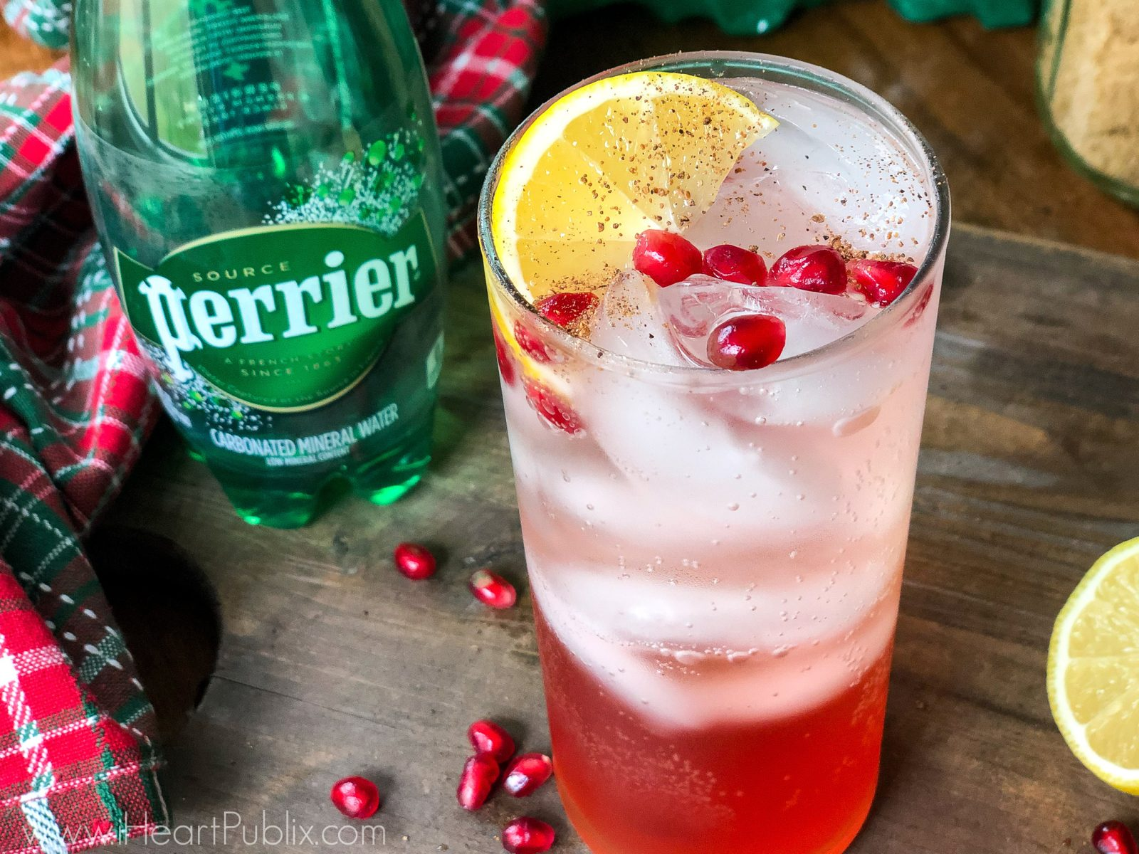 Try The Good Ole Time, A Tasty Cocktail Made With PERRIER® - Save Now At Publix on I Heart Publix