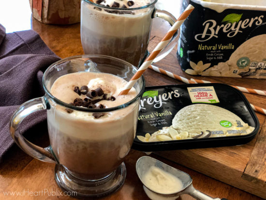 A Hot Chocolate Float Is The Dessert You Need Now! Make It While Breyers Is BOGO At Publix on I Heart Publix