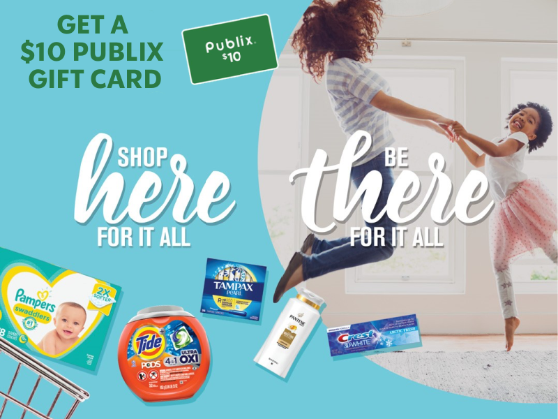 Earn A $10 Publix Gift Card With Your $30 Participating Purchase on I Heart Publix