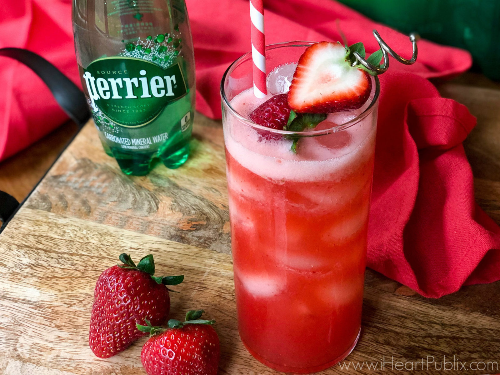 Save On PERRIER® At Publix - Try This PERRIER® Smoothie With Your Holiday Brunch on I Heart Publix