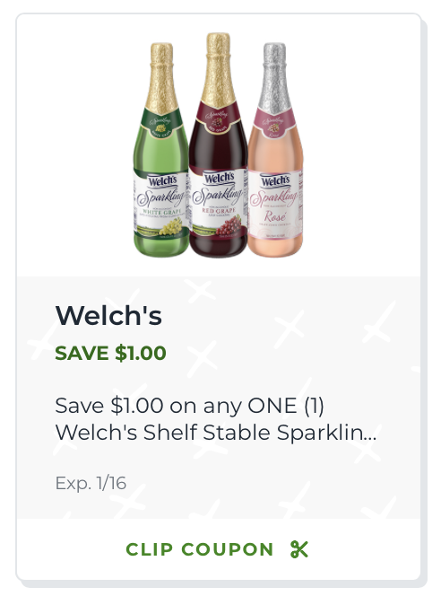 Make Your Celebration Special With Welch's Sparkling Juice - Clip Your Coupon And Save At Publix! on I Heart Publix 2