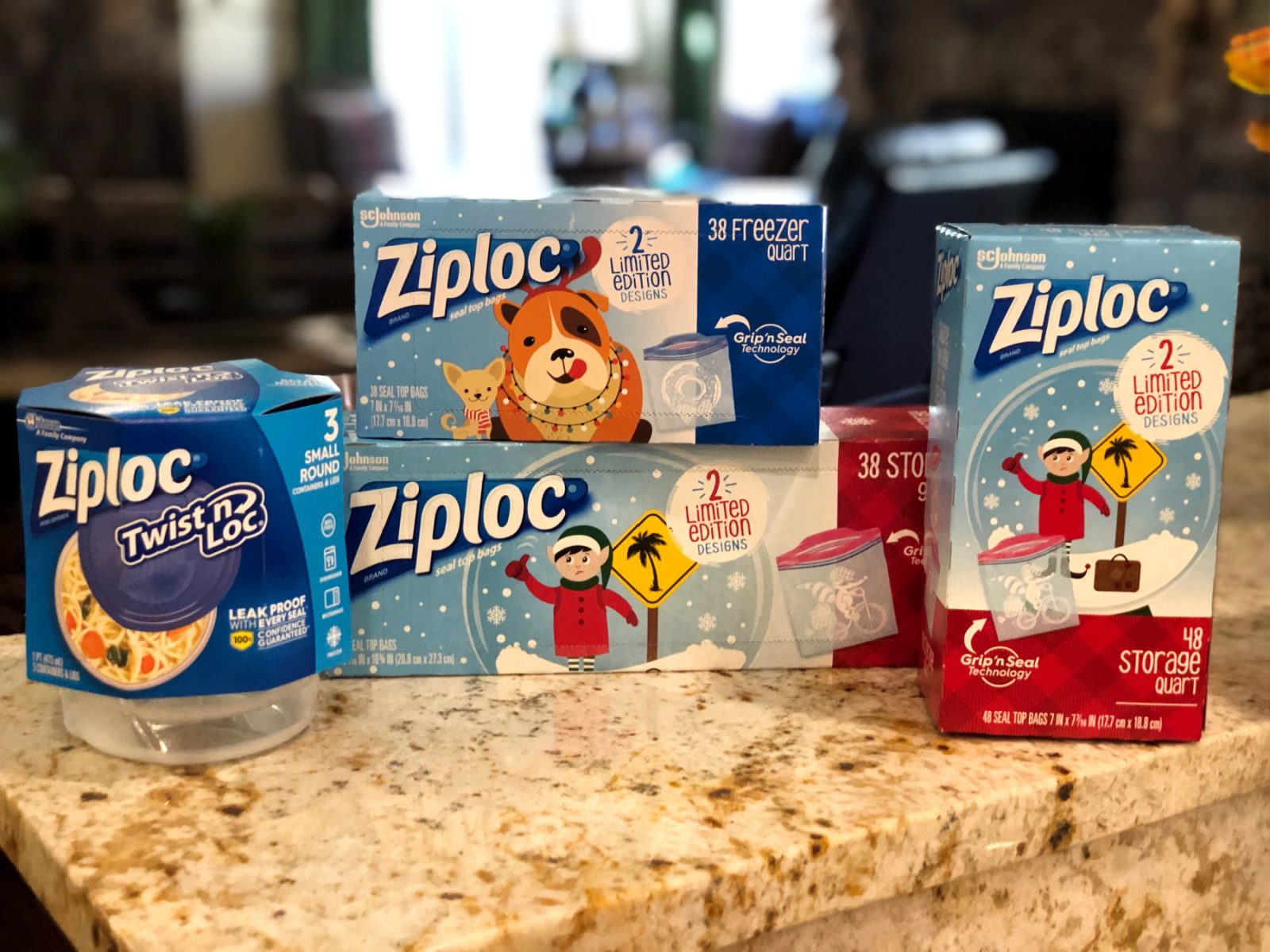 Spread Holiday Cheer With Ziploc® Brand Bags And Containers - Save At Publix on I Heart Publix