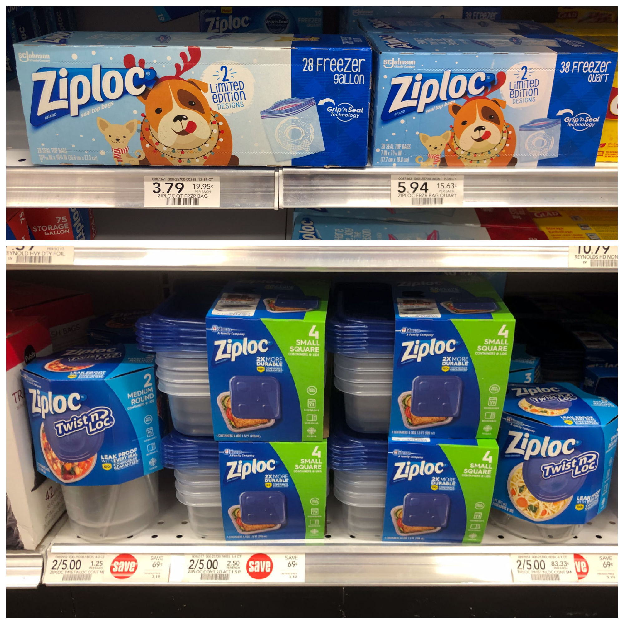 Spread Holiday Cheer With Ziploc® Brand Bags And Containers - Save At Publix on I Heart Publix 1