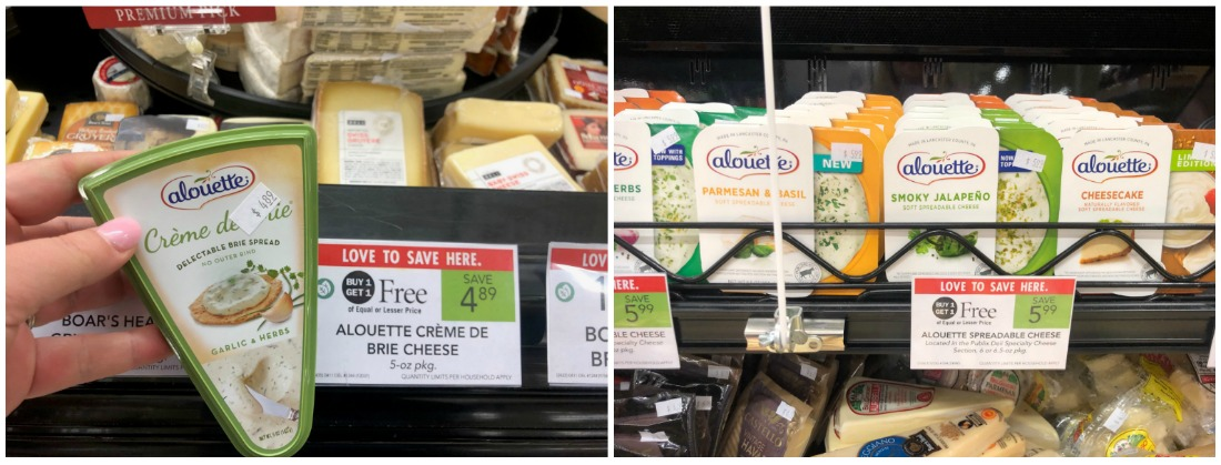 Alouette Spreadable Cheese Just $2 At Publix on I Heart Publix 1