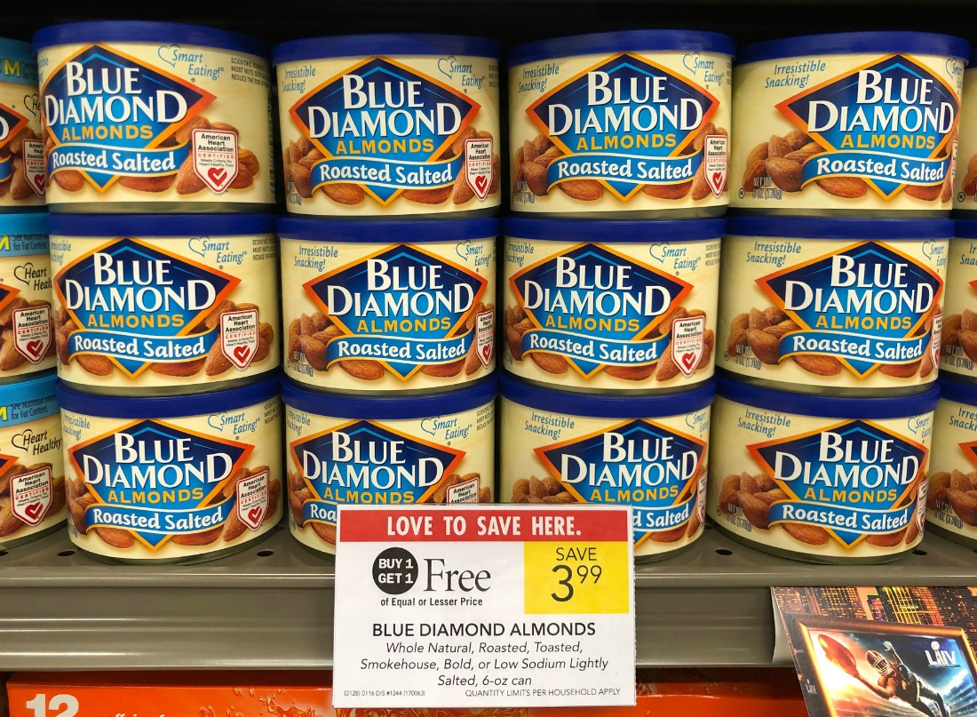 Blue Diamond Almonds For Half Price - Just $1.99 At Publix on I Heart Publix