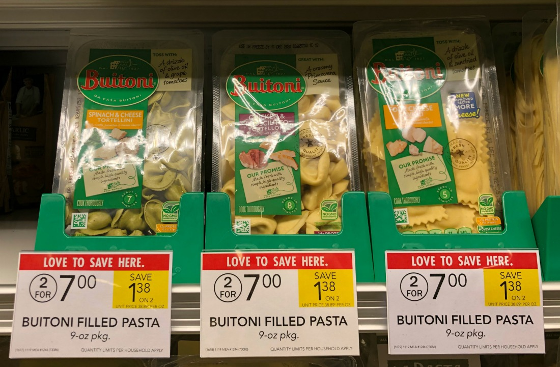 Buitoni Pasta As Low As $2.25 At Publix on I Heart Publix