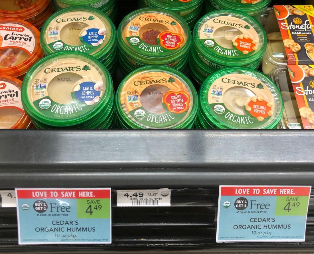 Cedar's Organic Hummus Just $1.75 (Plus Cheap Tzatziki) on I Heart Publix 3