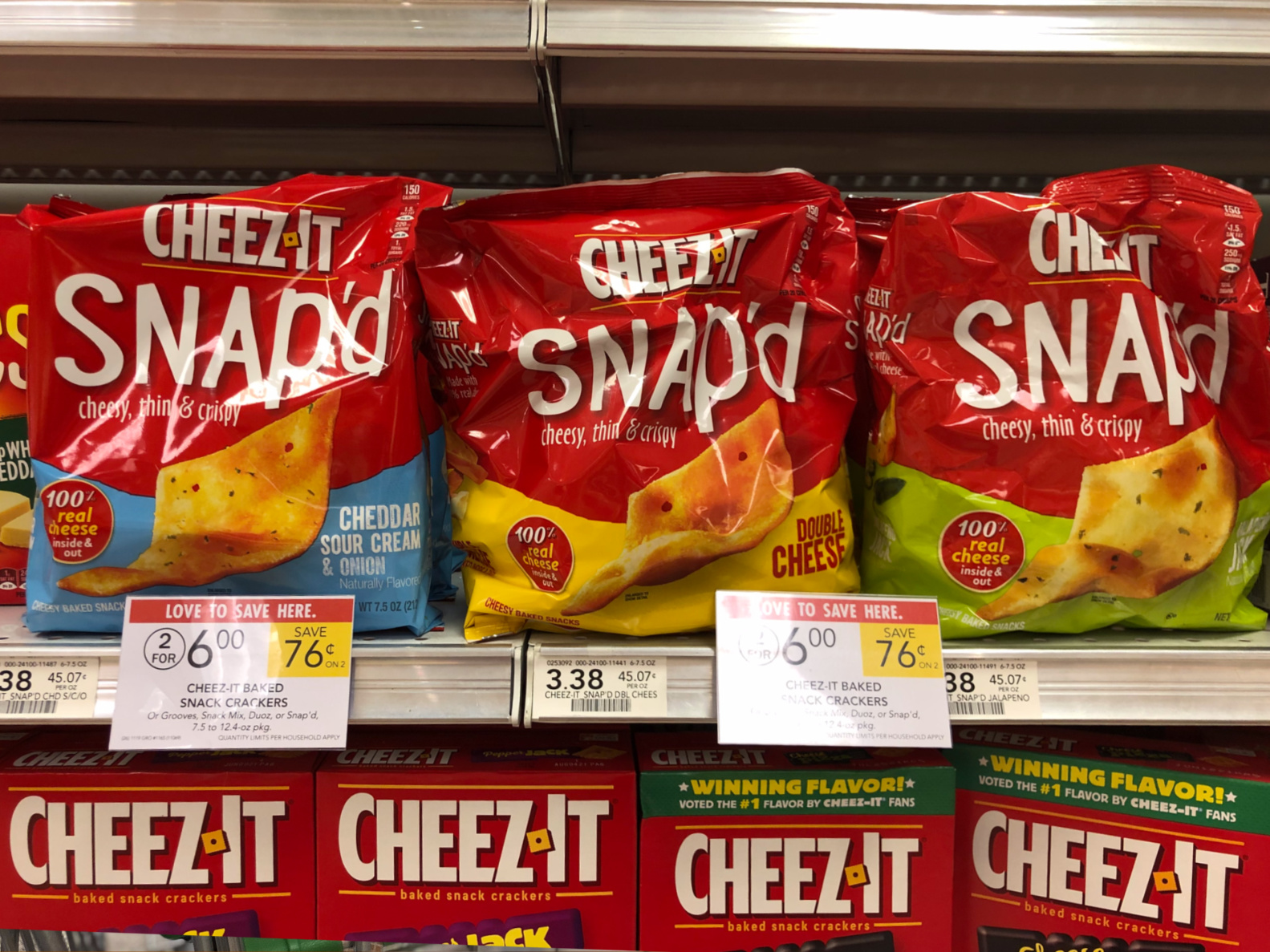 Stock Up On Tasty Cheez-It Snap'd For All Your Holiday Celebrations on I Heart Publix