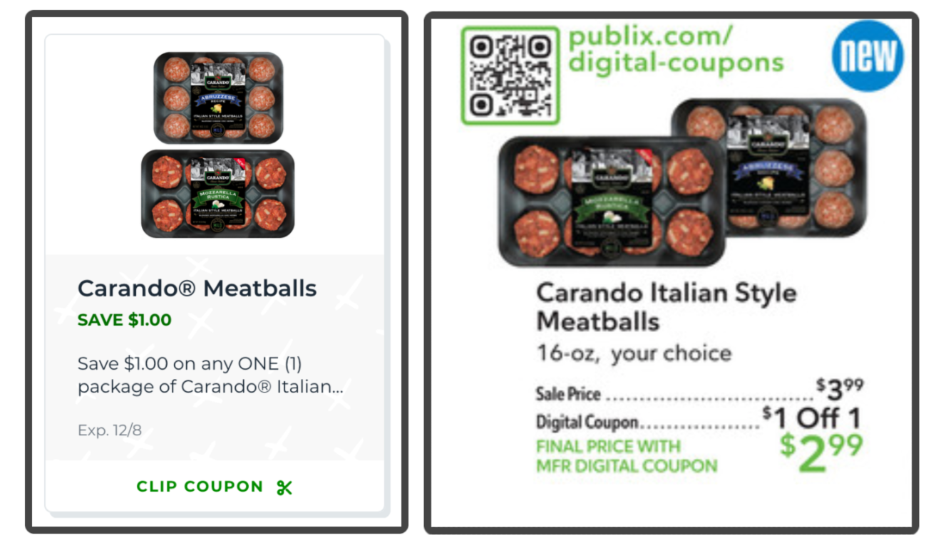 Grab A Fantastic Deal On Carando Meatballs At Publix & Try My Meatball & Dumplings Soup on I Heart Publix 1