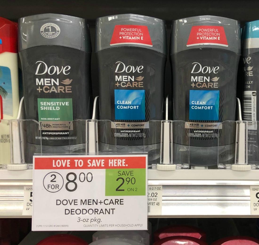 New Dove Men+Care Deodorant Coupon - Grab Them For Just $1 At Publix on I Heart Publix