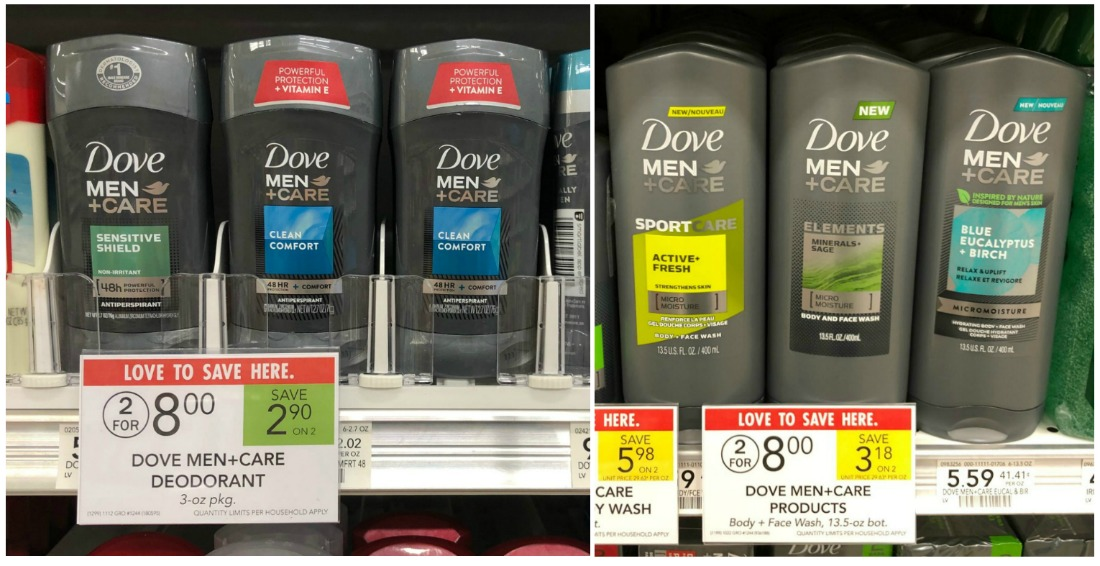 Super Deal On Dove Men+Care Deodorant & Body Wash At Publix on I Heart Publix