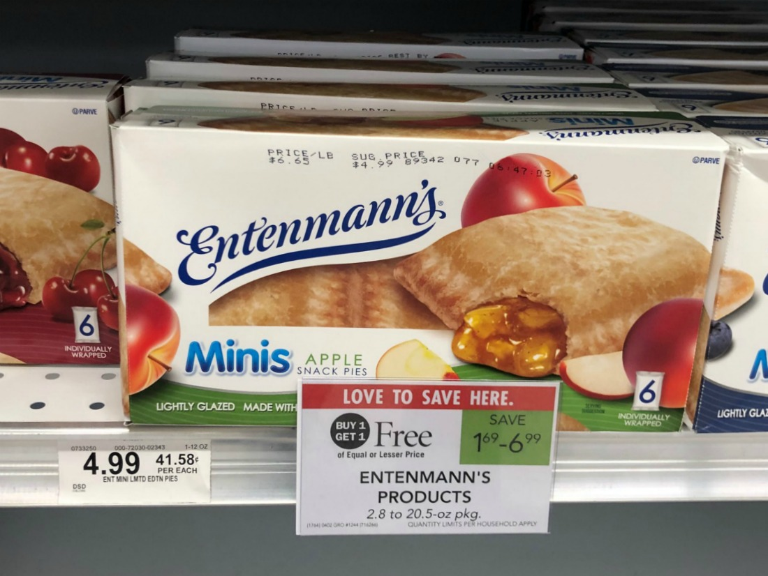 New Rare Entenmann's Minis Coupon For The Publix BOGO - Just $1.90 on I Heart Publix