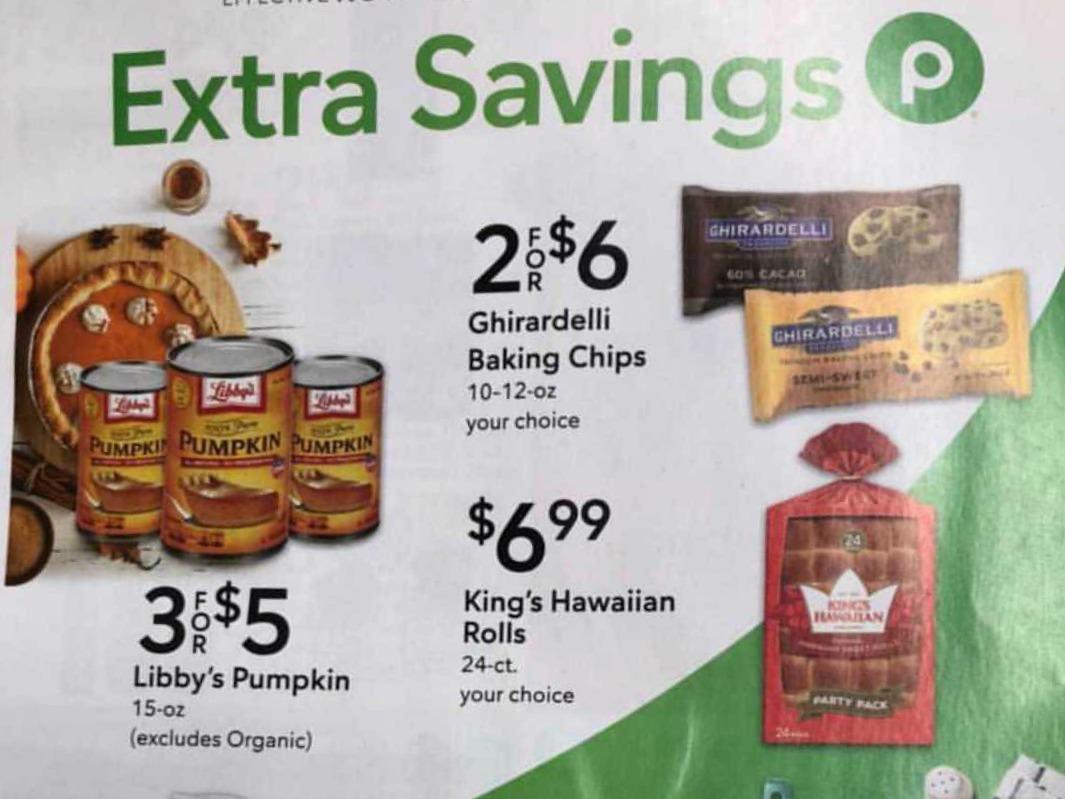Publix Extra Savings Flyer Valid 11/21 to 12/4 on I Heart Publix