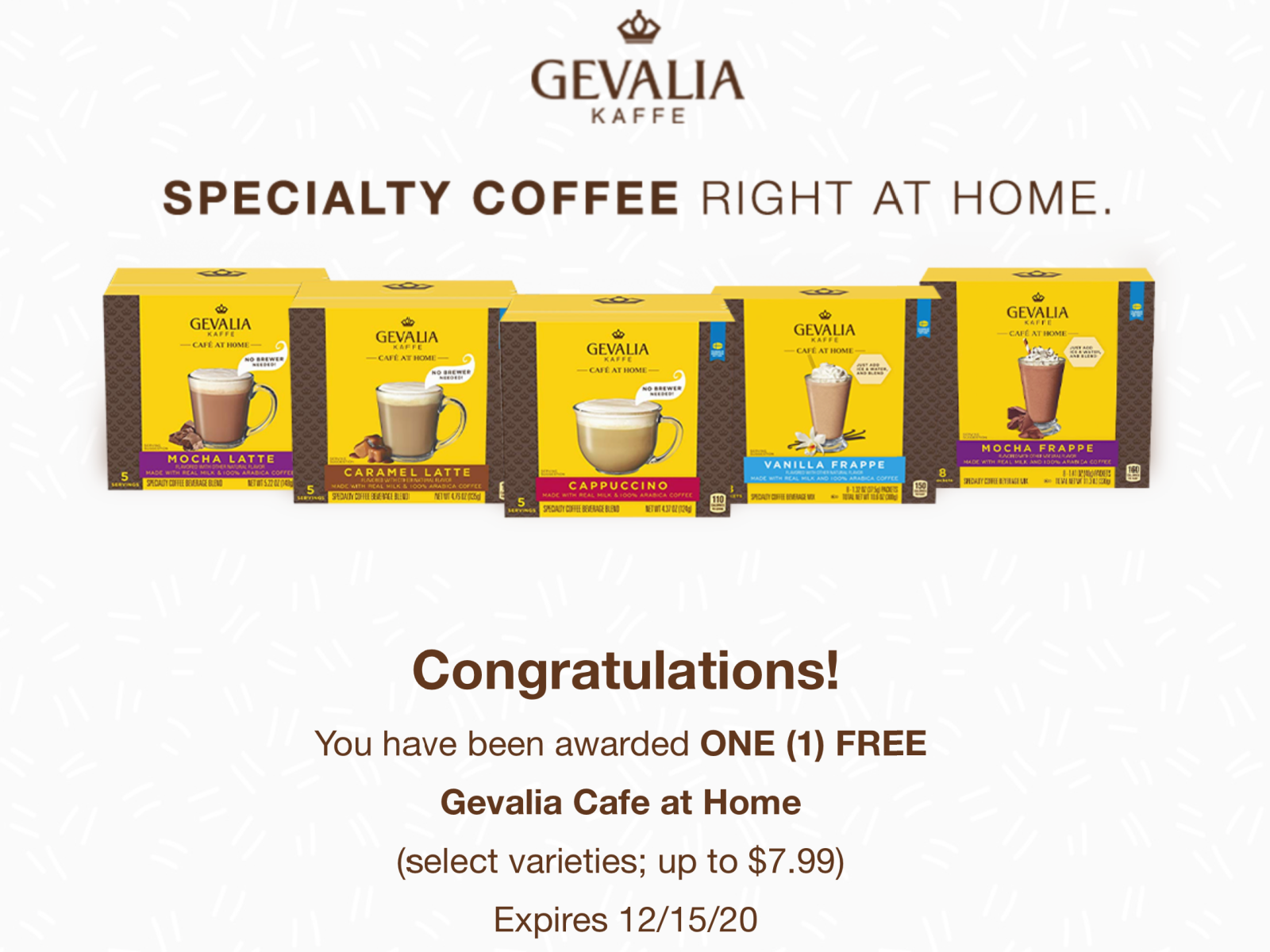 FREE Gevalia Cafe at Home - Request Your Freebie on I Heart Publix