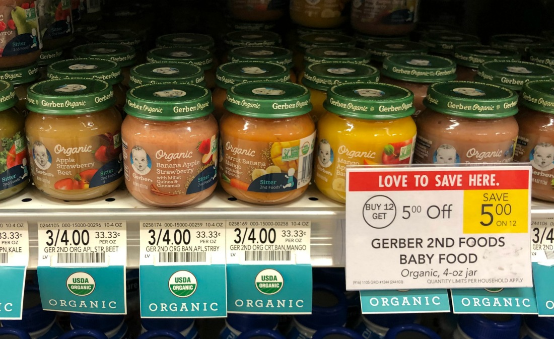 Gerber Baby Food As Low As 38¢ Per Pack At Publix on I Heart Publix