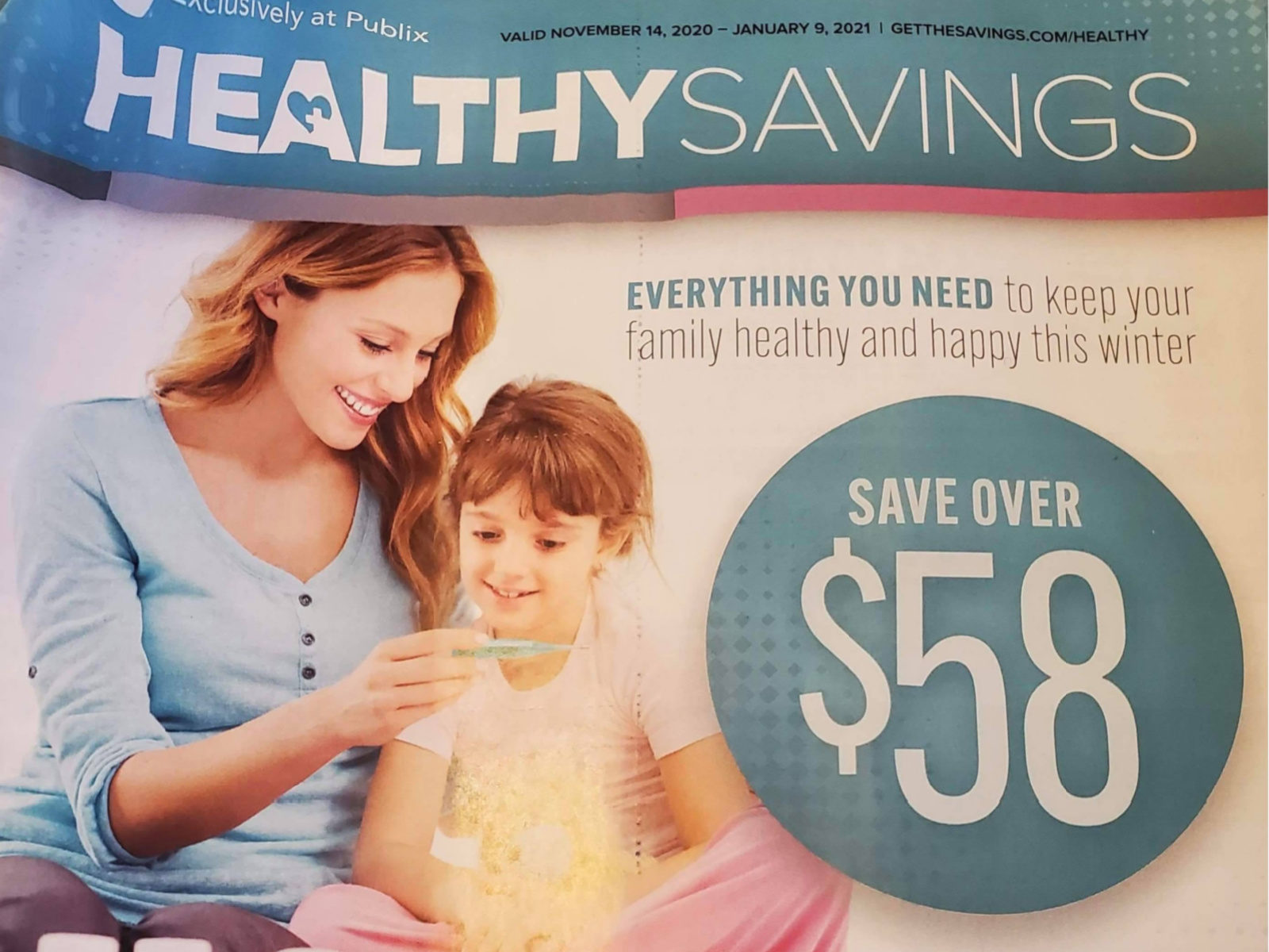 New Publix Booklet - Healthy Savings Valid 11/14 - 1/9 on I Heart Publix