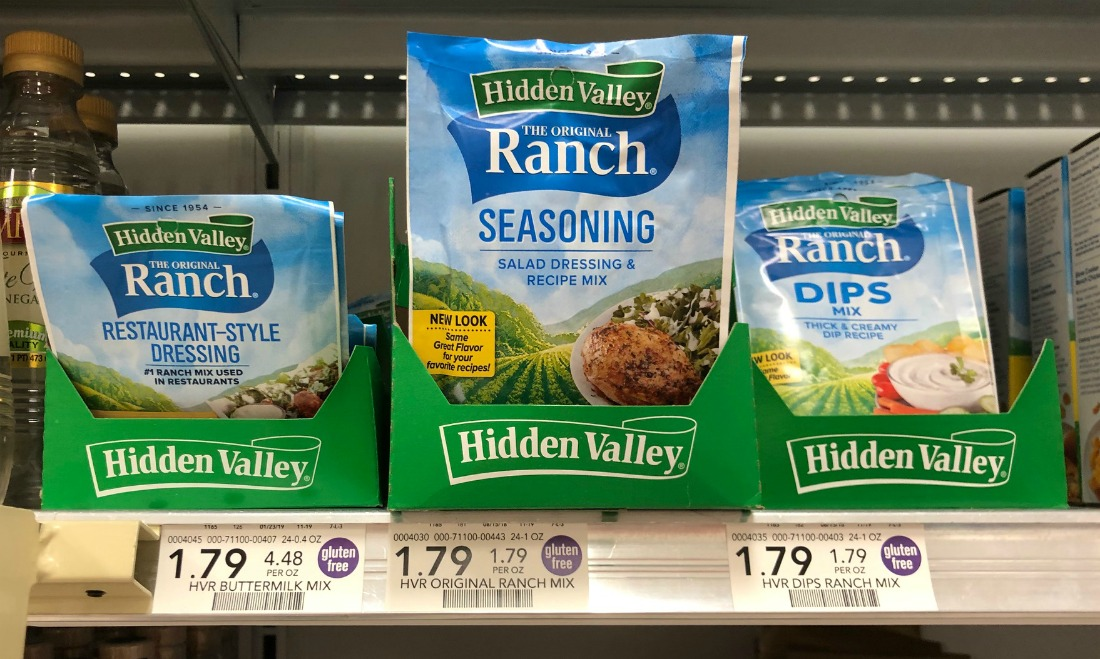 Hidden Valley Dry Mix Packets Only 90¢ At Publix on I Heart Publix