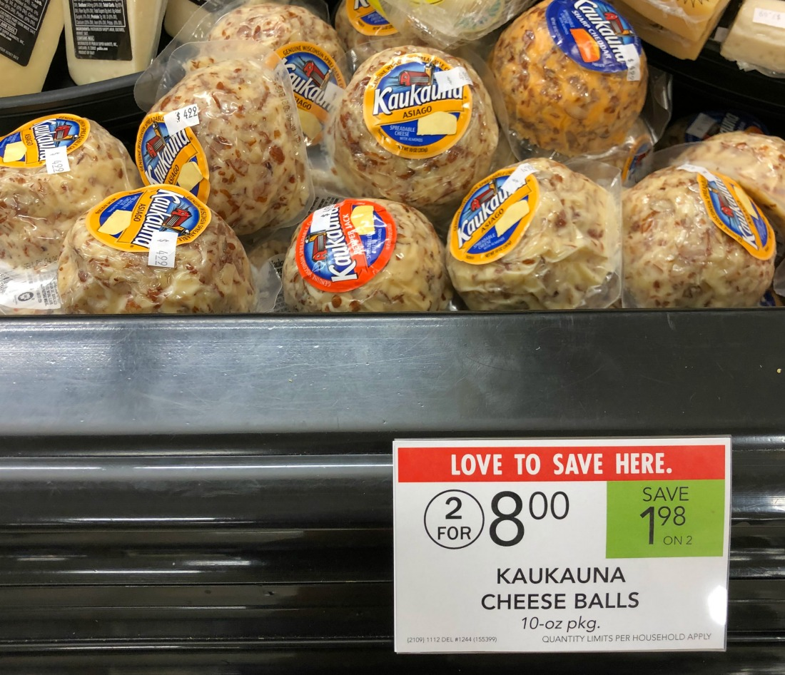 Kaukauna Cheese Balls Only $2.99 At Publix on I Heart Publix