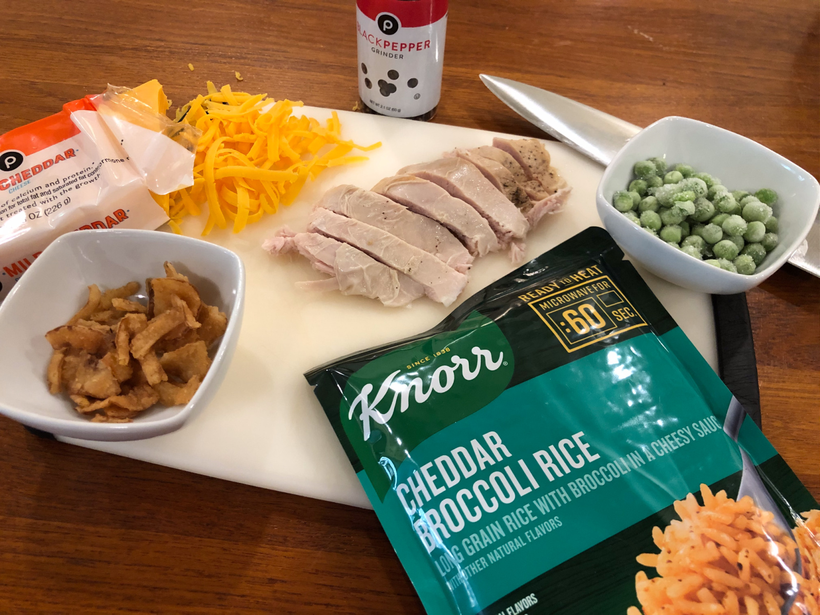 Thanksgiving Leftovers Rice Bowl - Clip Your Coupon And Save On Knorr Products At Publix on I Heart Publix