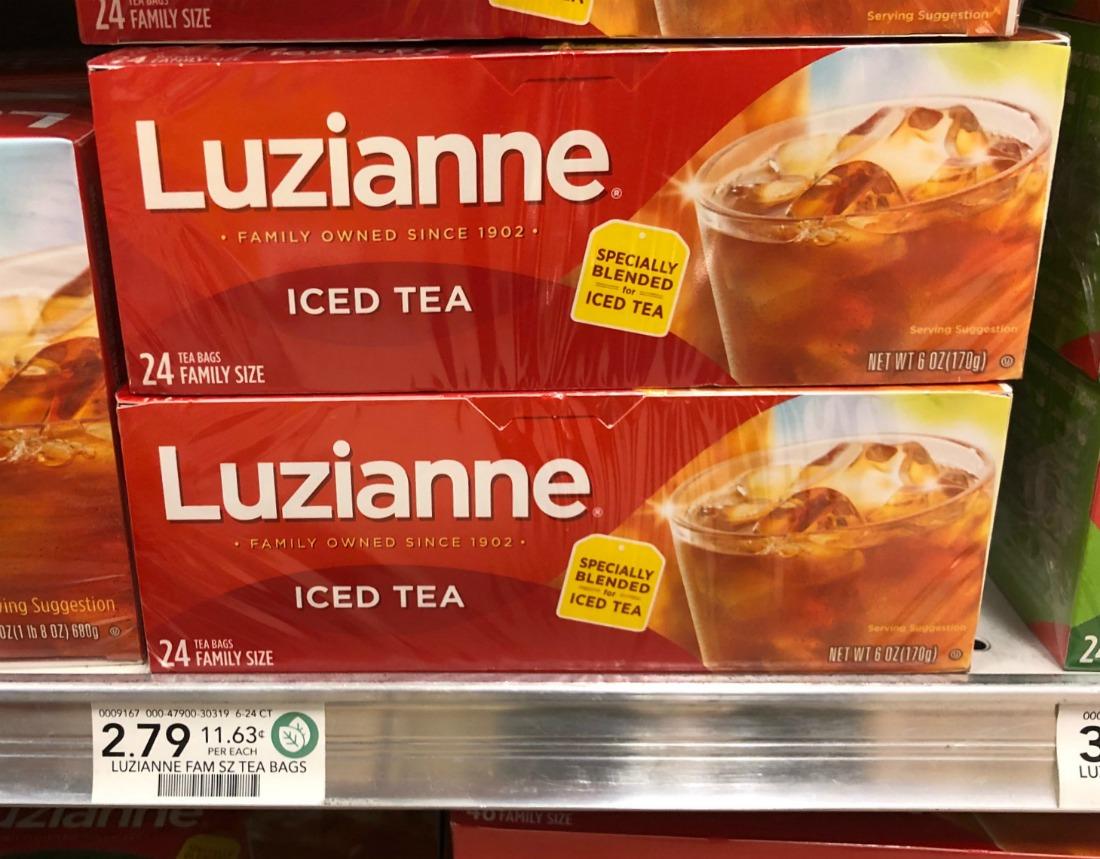 Luzianne Tea Just $1.40 At Publix on I Heart Publix