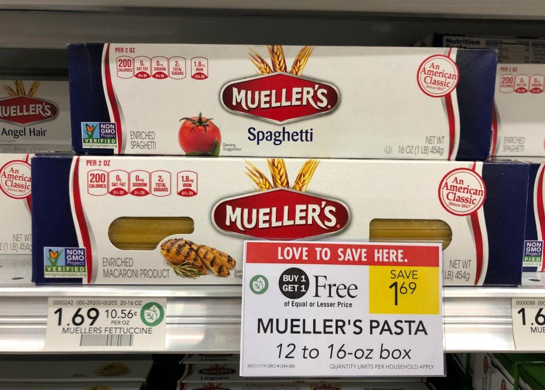 Mueller's Pasta Just 47¢ Per Box At Publix on I Heart Publix 1