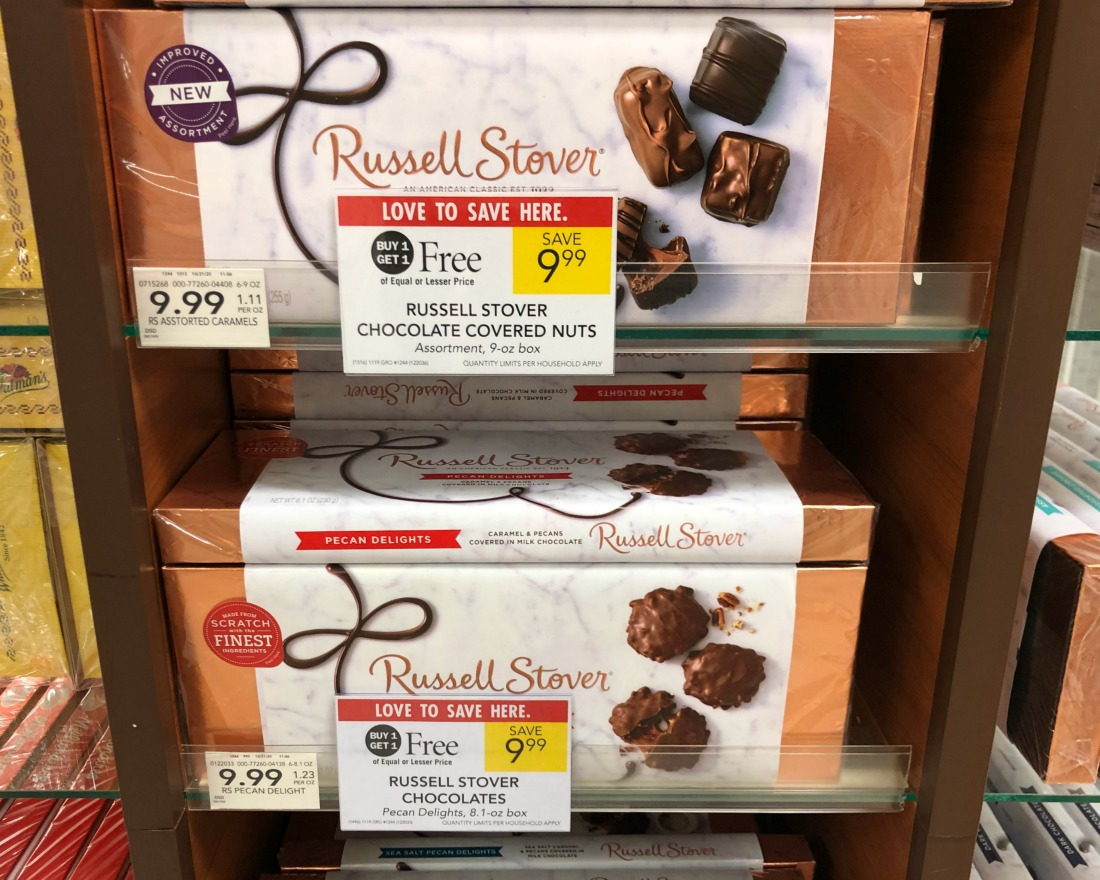 Russell Stover Chocolates Only $4.50 At Publix on I Heart Publix 1