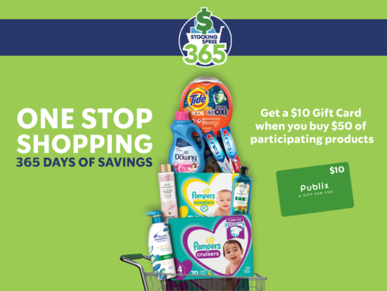 Earn Publix Digital Gift Cards In 24 Hours With The Stocking Spree 365 Program on I Heart Publix 3